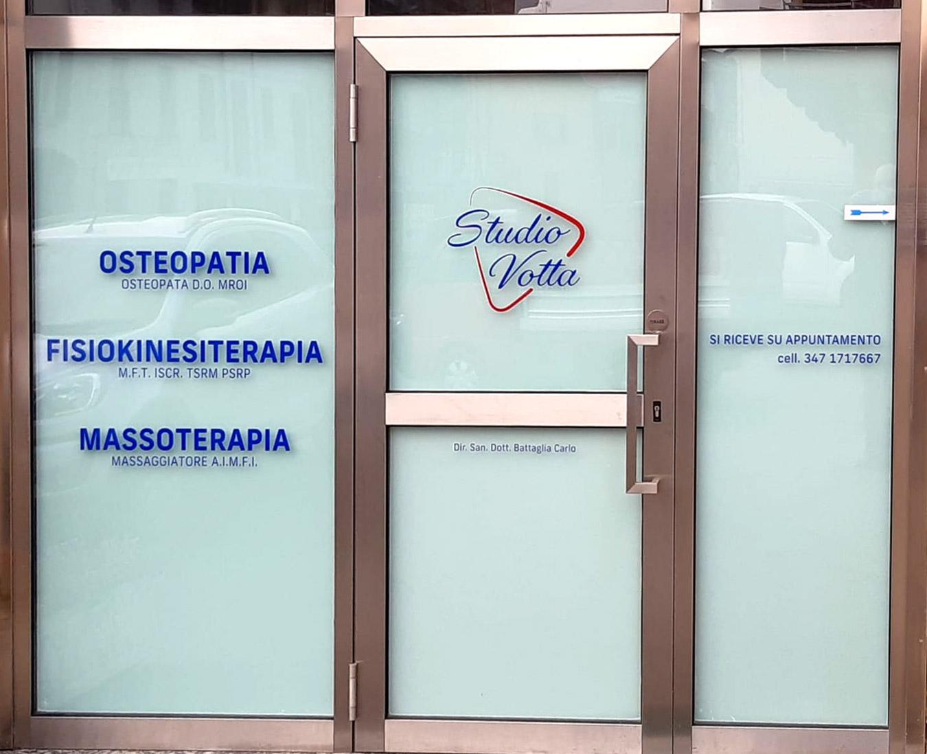 Lo studio Votta terapie manuali e riabilitative a Cantù Como